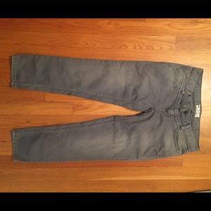 Free People grey crop jeans size 24